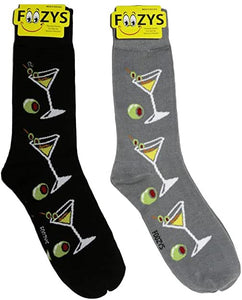 Martinis Foozys Men's Crew Socks Foozy