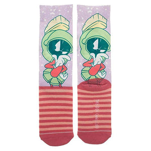 Marvin The Martian Loony Tunes Crew Sock