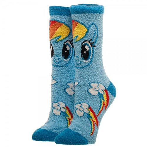 My Little Pony Dash Fluffy & Fuzzy Crew Socks