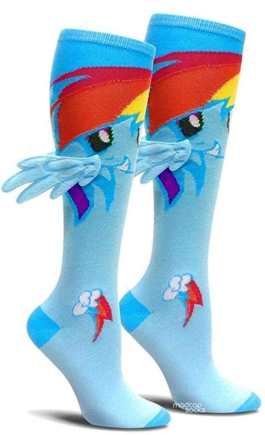 My LIttle Pony Dash with Wings Knee High Socks