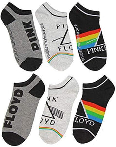 Pink Floyd Unisex Dark Side Of The Moon 3 pack Ankle Socks