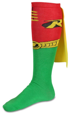 Robin Cape Knee High Socks