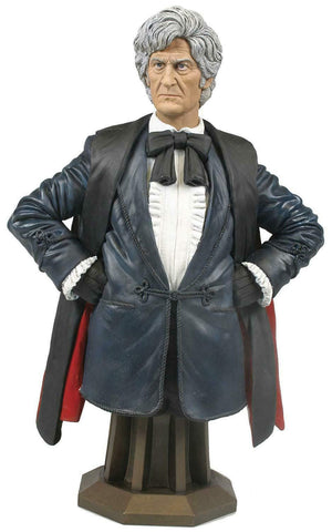 Titan Merchandise Doctor Who Jon Pertwee The Third Doctor Mini Bust