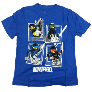 The Ninjago Movie Lego Boys T-Shirt Ninja Warner Bros