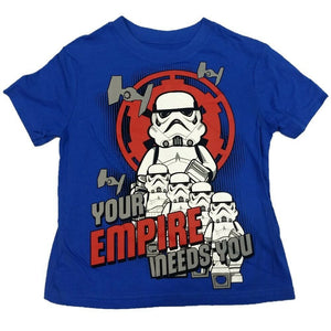 Your Empire Needs You Lego Star Wars T-Shirt Kids Boys Officially Licensed