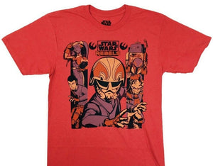 Star Wars Rebels Sky Crew Mens T-Shirt
