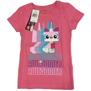 Unicorn Awesomer The Lego Movie 2 Warner Bros Girls T-Shirt