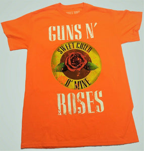 Guns N' Roses Sweet Child O' Mine Officially Licensed Tee Mens T-shirt