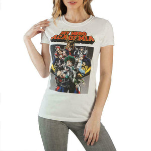 My Hero Academia Cast Juniors T-Shirt