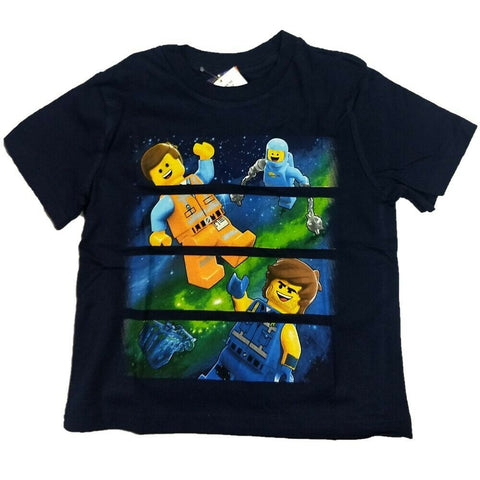 The Lego Movie 2 Warner Bros  Boys T-Shirt Man in Space