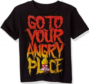 Disney Inside Out Go To Your Angry Place Boys T-Shirt