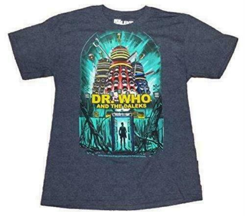 Doctor Dr Who and the Daleks Mens T-Shirt