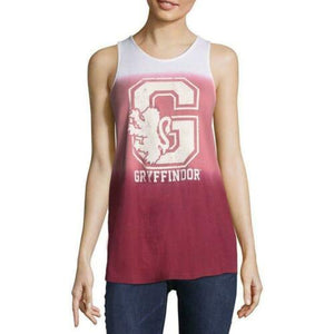 Harry Potter Gryffindor Womens Tank Top Tye Dye Logo