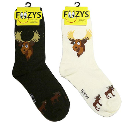 Vermont Moose Foozys Womens Crew Socks