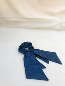 Silk Bow Scrunchie
