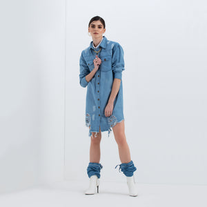 The Heidi Shirt Dress