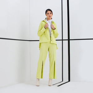 The Antoinette Neon Jacket & Pant Set