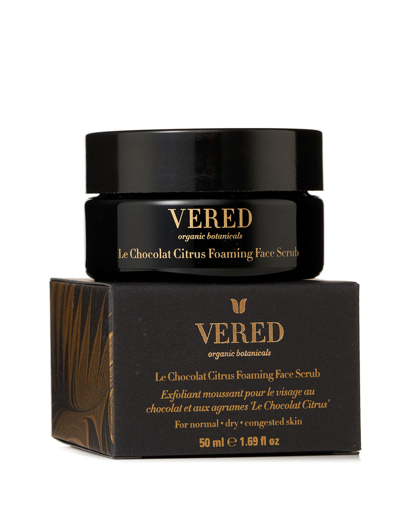 Le Chocolat Citrus Foaming Face Scrub