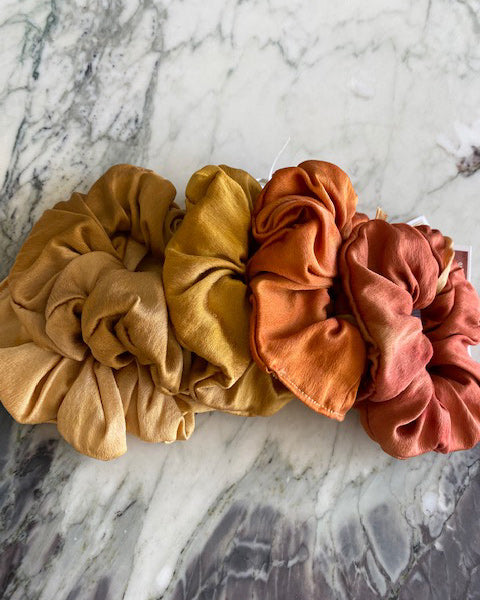 Silk Scrunchie Small
