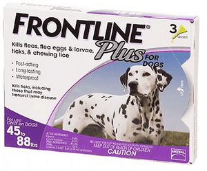 Frontline Plus for Large Dogs