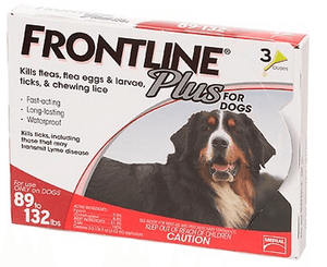 Frontline Plus for Extra Large Dogs