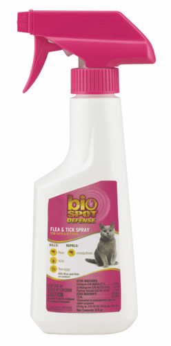 Bio Spot Active Care Flea and Tick Spray for Cats