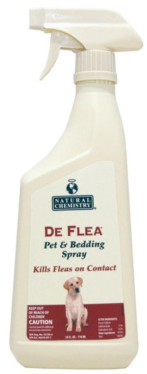 Natural Chemistry DeFlea Pet and Bedding Spray for Dogs