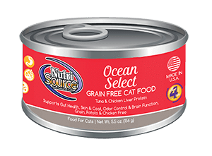 NutriSource Grain Free Ocean Select Canned Cat Food