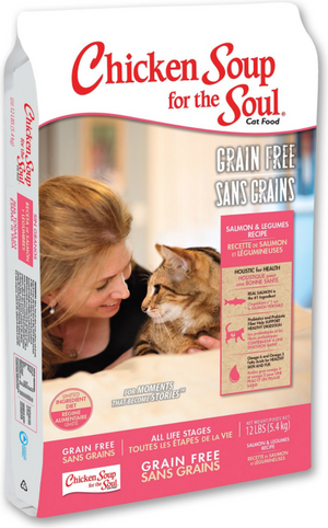 Chicken Soup for the Soul Grain Free Salmon and Legume Limited Ingredient Diet Dry Cat Food