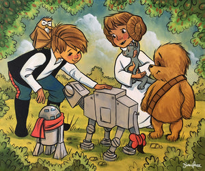 Friends Of The Force (Wookiee the Chew)