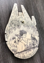 Please Let Someone Find My Droidlet... (Wookiee the Chew - Wooden Wall Clock)