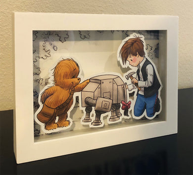 I'll Most Likely Lose It Again, Anyway (Wookiee the Chew Shadow Box)