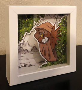 Owlbi-Wan (Wookiee the Chew Shadow Box)
