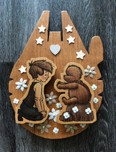 The Promise (Wookiee the Chew - Wooden Night Light)