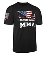 Bad Boy USA MMA American Flag T-Shirt