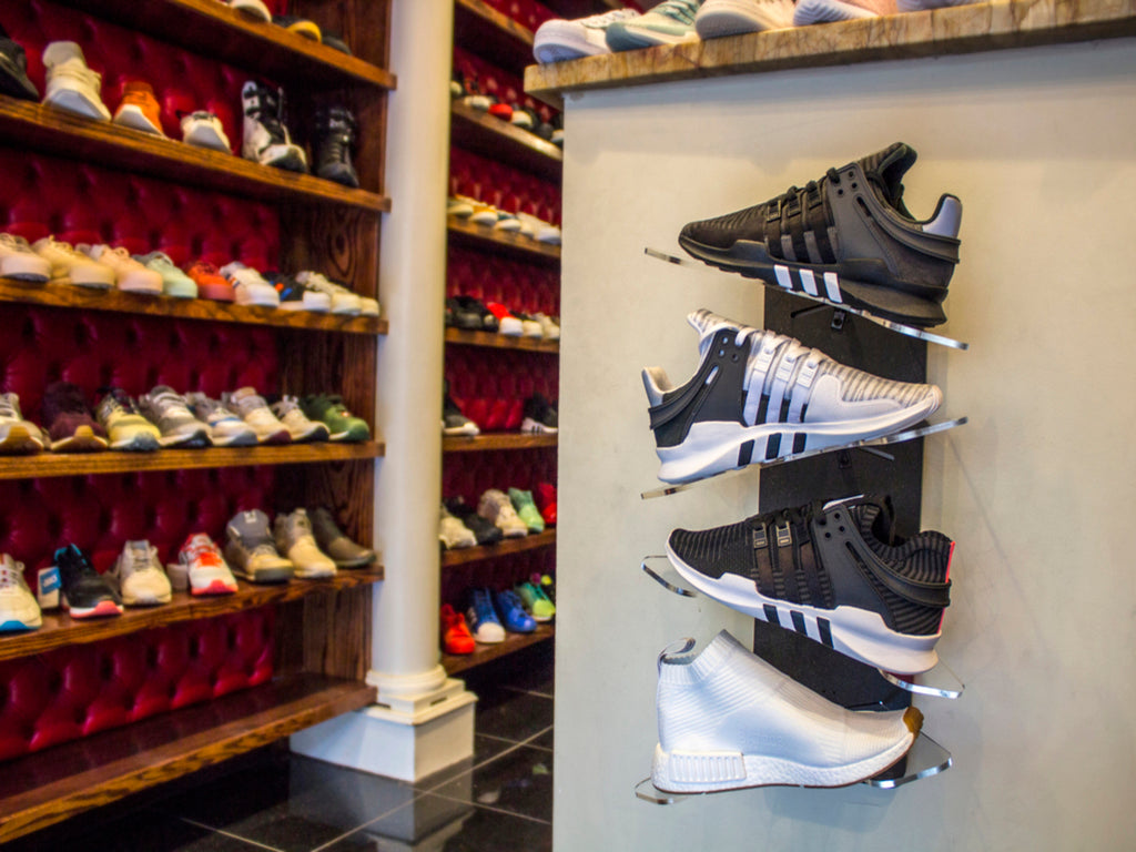 Sole Stacks Premium Shoe Display Made To Be Seen