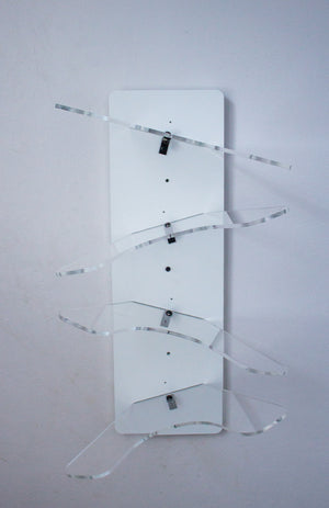 Four Stack Wall Mount - White