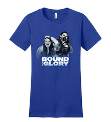 Bound For Glory 2020 Neveah & Havok WOMEN'S Short Sleeve Tee
