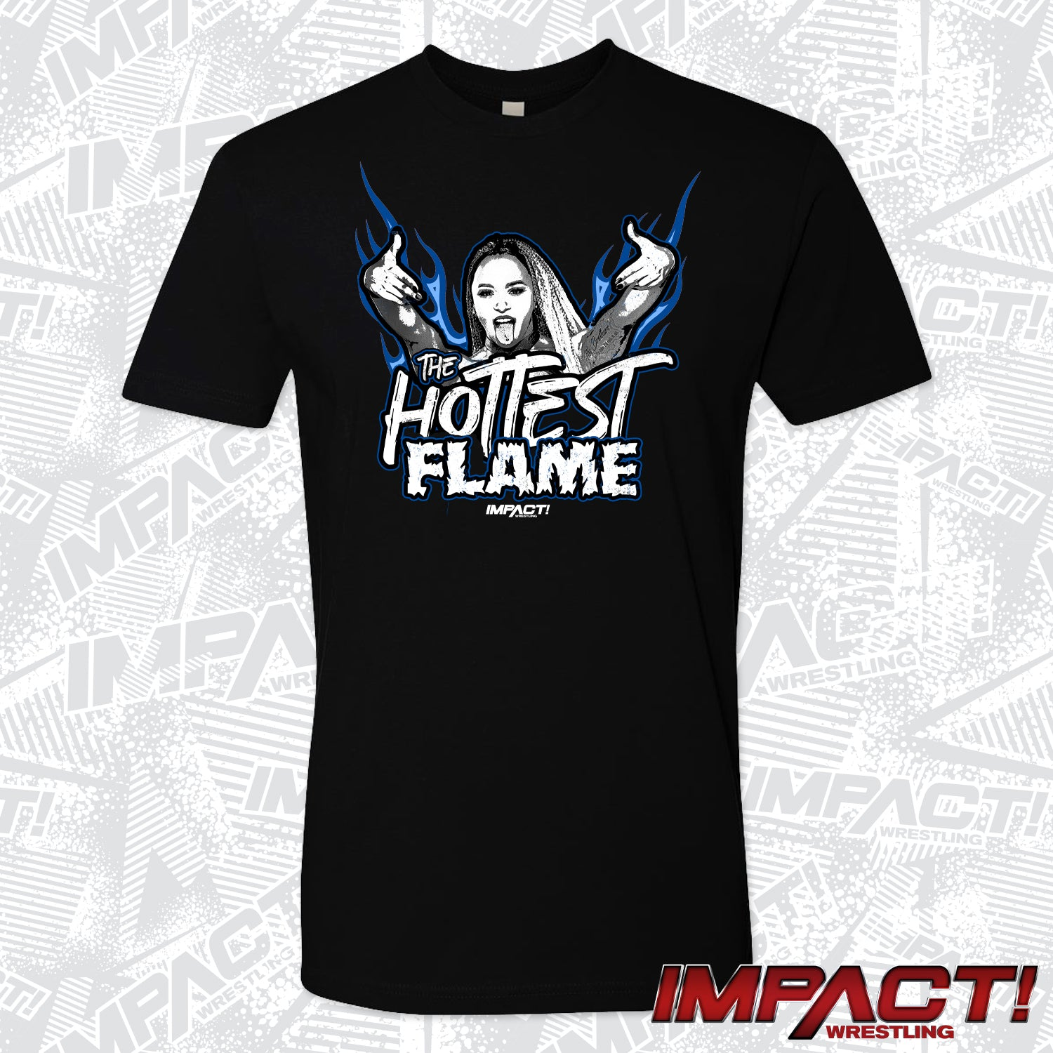 Kiera Hogan - The Hottest Flame Men's Short Sleeve T-Shirt