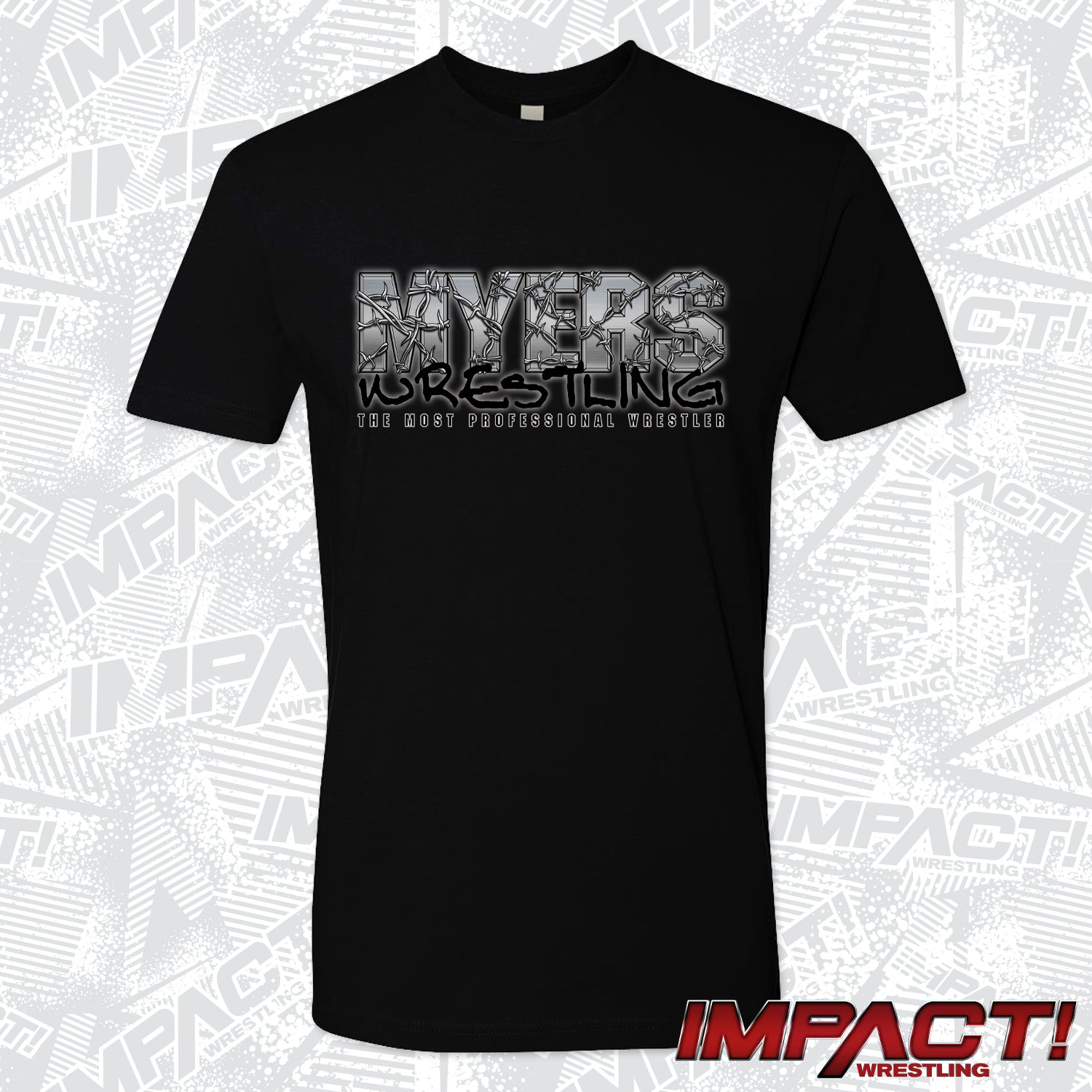 Brian Myers Barbed Wire T-Shirt