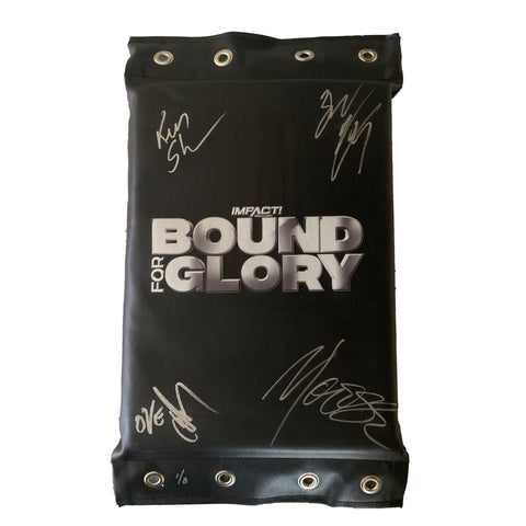 Bound for Glory Turnbuckle - SIGNED & NUMBERED