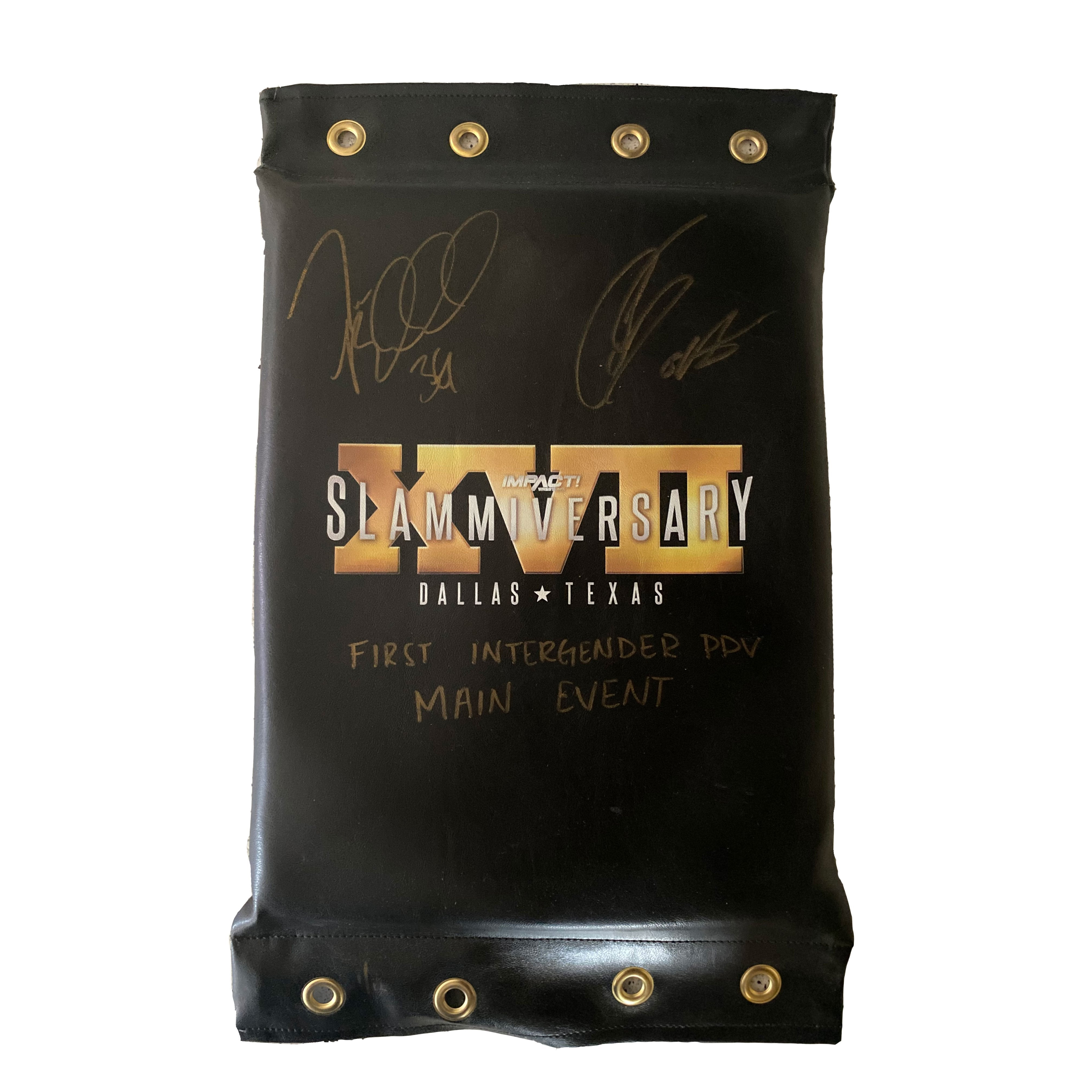 Slammiversary 17 Turnbuckle - SIGNED & NUMBERED
