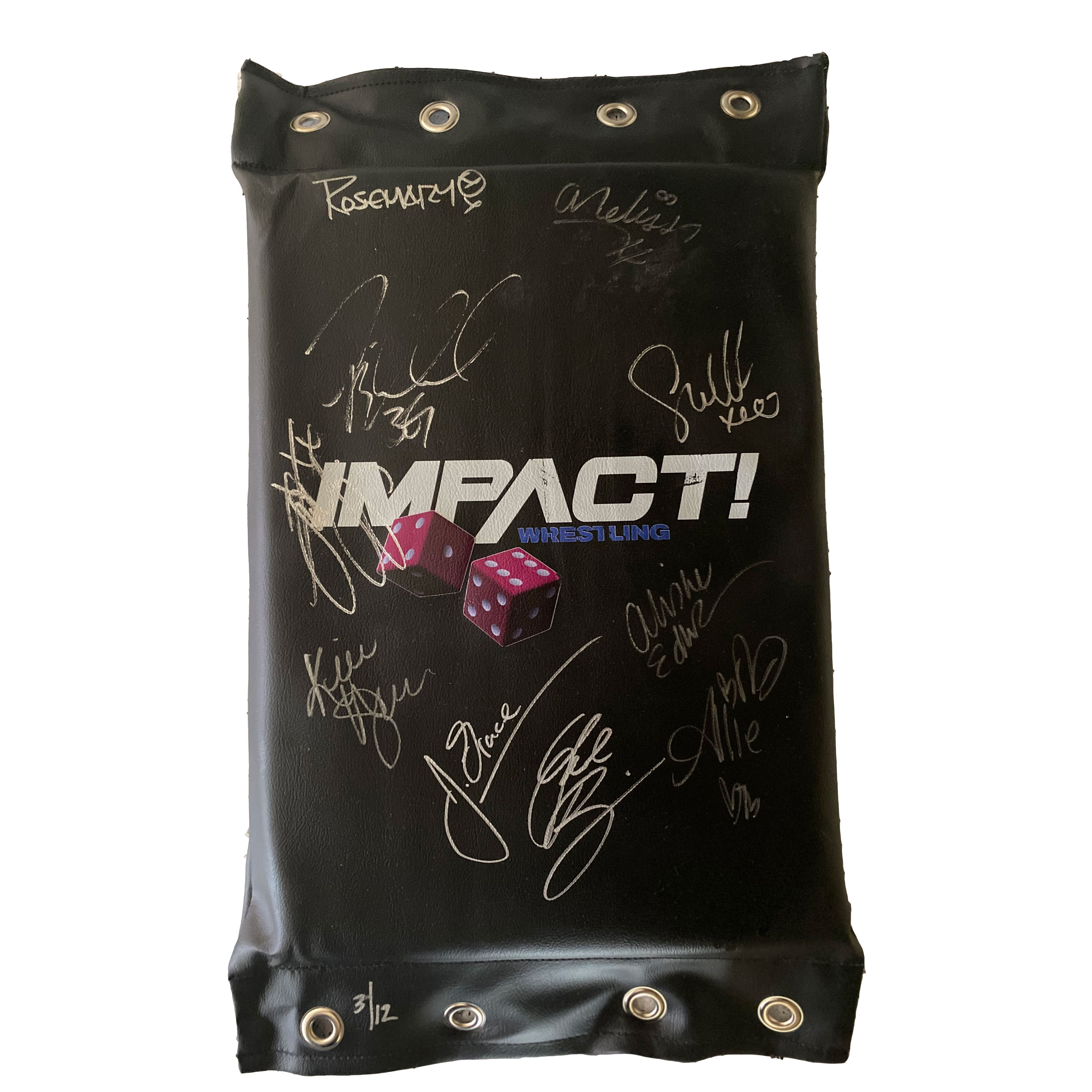 Impact Vegas Turnbuckle - SIGNED & NUMBERED