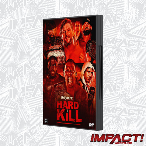 Hard To Kill 2021 PPV DVD