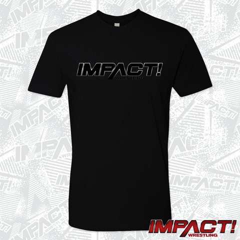 IMPACT All Black Logo Tee