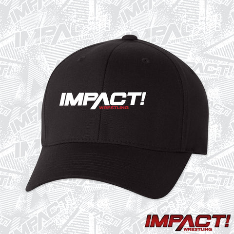 IMPACT White Logo Flex Hat