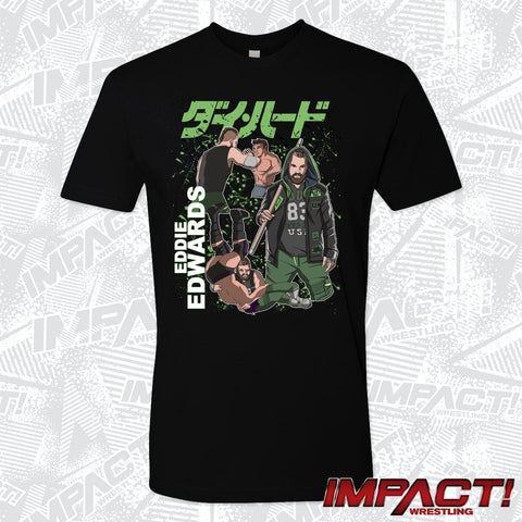 Eddie Edwards Comic Style T-Shirt
