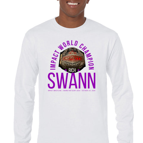 RICH SWANN IMPACT CHAMP LONG SLEEVE TEE