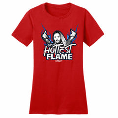KIERA HOGAN - THE HOTTEST FLAME WOMEN'S Short Sleeve T-Shirt