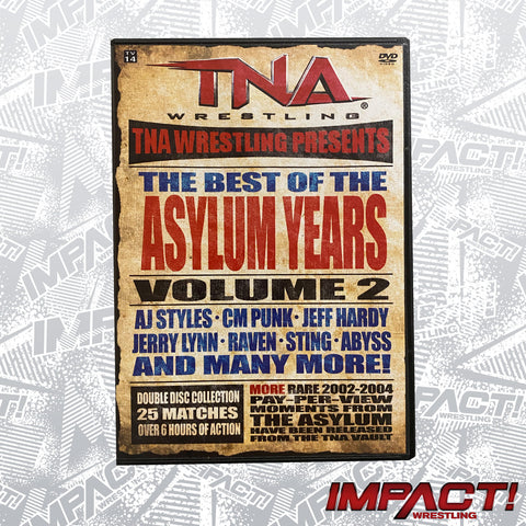 The Best of the Asylum Years: Volume 2 DVD